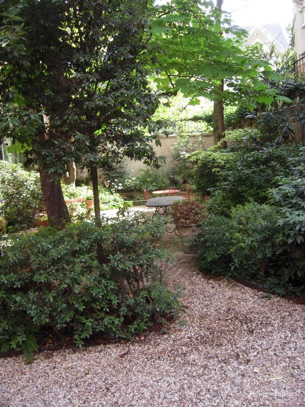 Petit Jardin De Ville Philippe Dubreuil Jardiniste